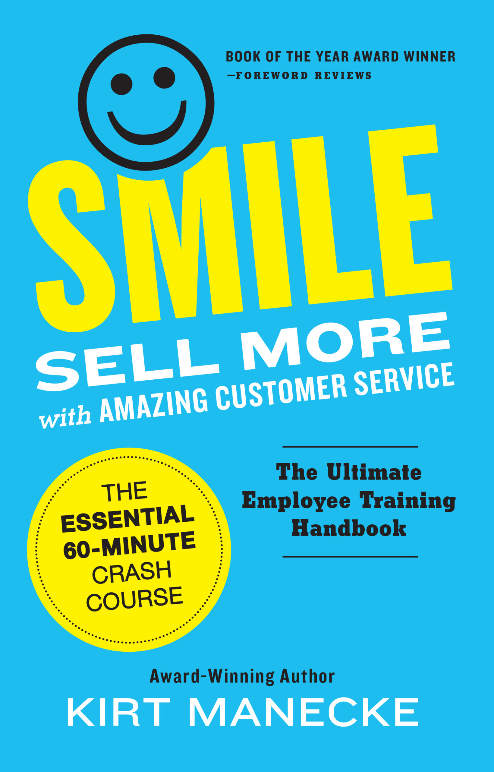 smile sell more with amazing customer service front book cover